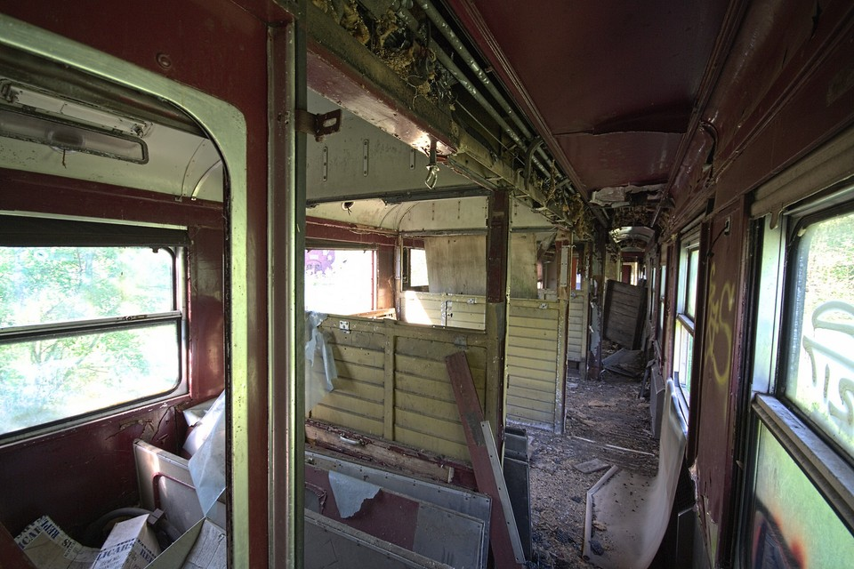 Trashed Carriage
