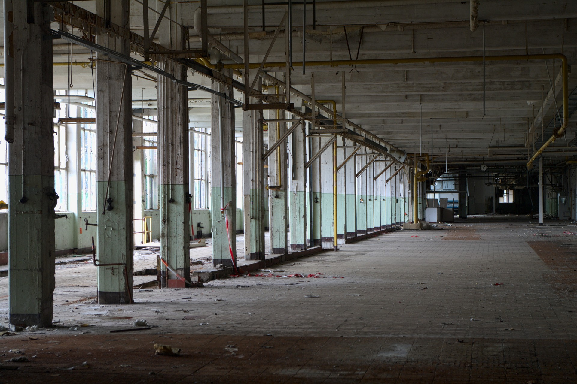 Abandoned Factory Hall Zwieback Factory Gallery